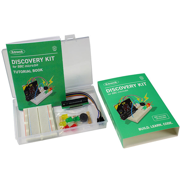 large kitronik discovery kit bbc microbit parts