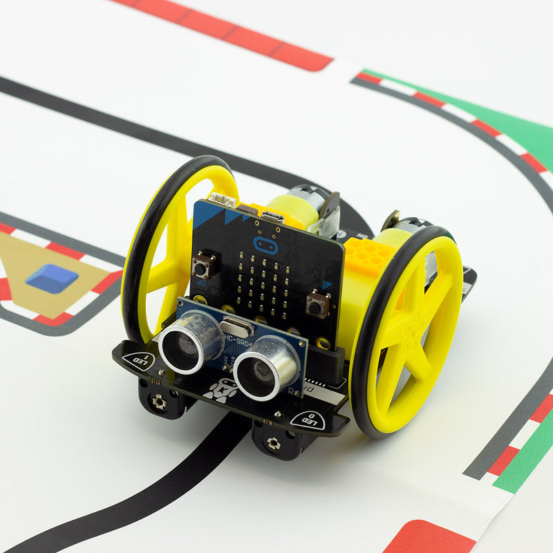 Kitronik :MOVE Motor for microbit robot buggy line following