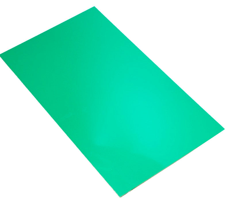 large hips high impact polystyrene sheet green