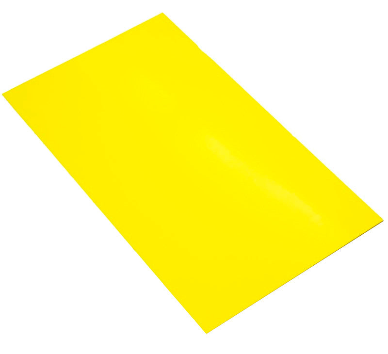 large hips high impact polystyrene sheet yellow
