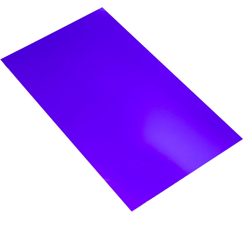 large hips high impact polystyrene sheet purple