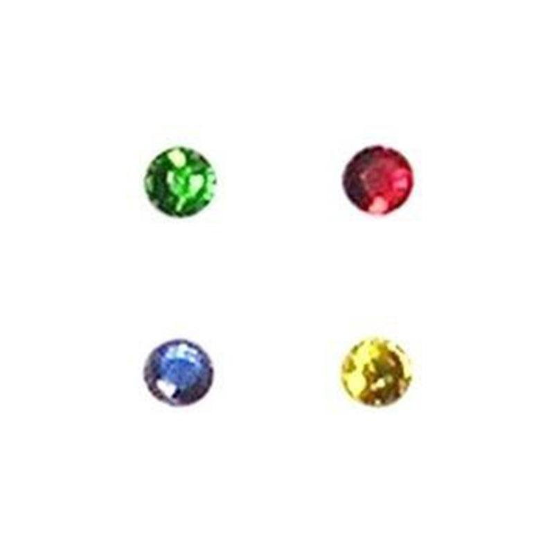 Rhinestones, Yellow 3mm Gem, pack of 500