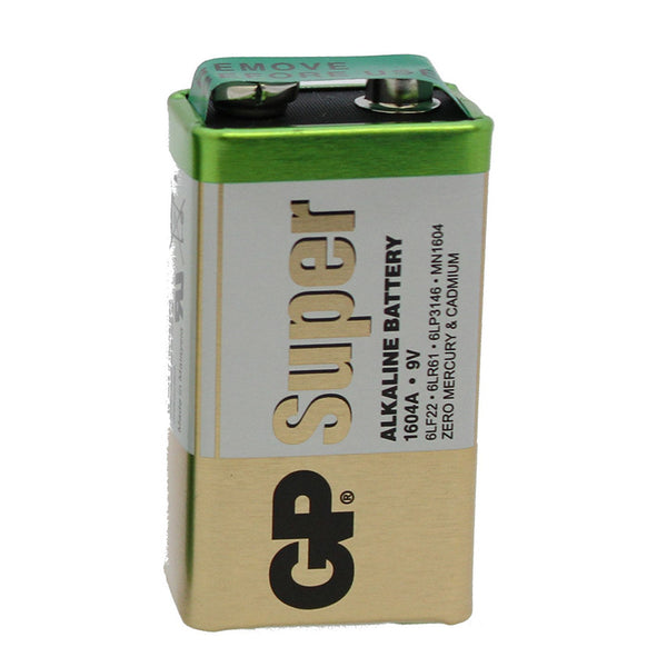 large gp alkaline pp3 battery
