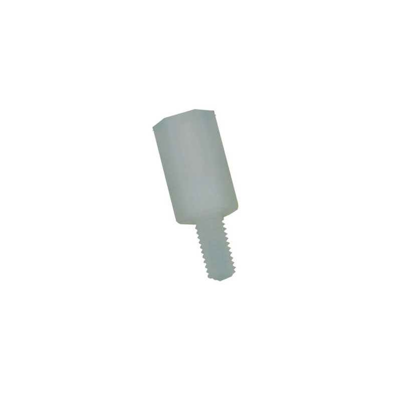 large plastic hex m3 standoff m f pack of 100