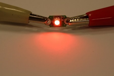 additional electro fashion red pcb led on