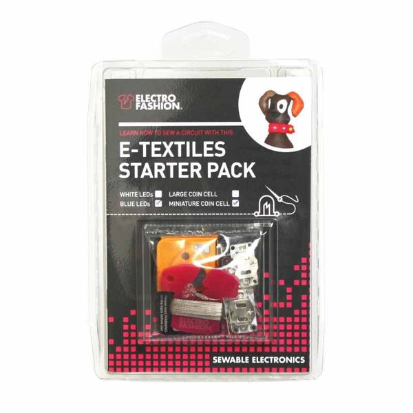 large e textiles miniature starter pack front packaged