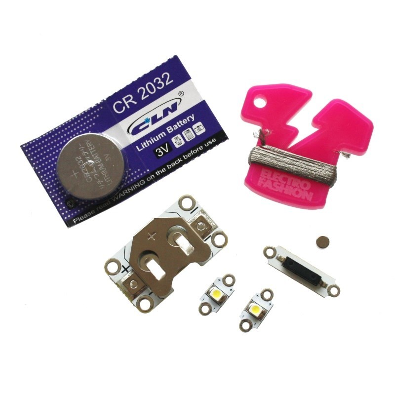 additional e textiles magnet activated kit parts