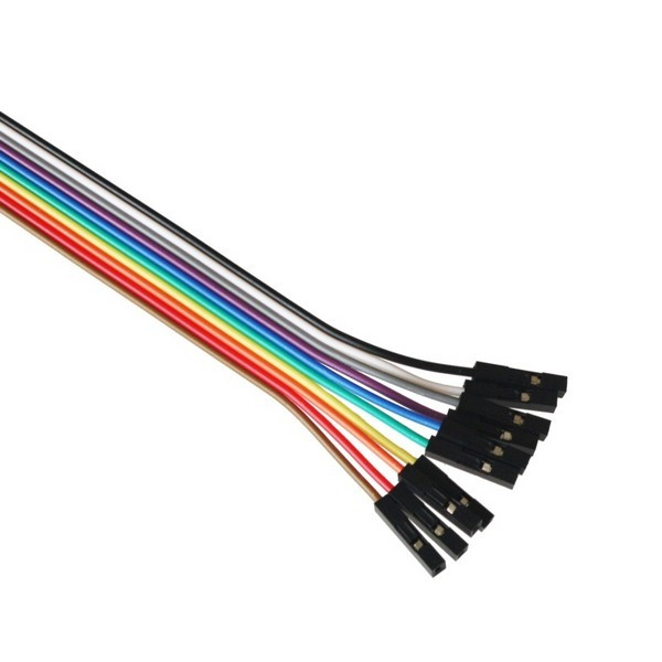 additional jumper wires 20cm female end pack 10