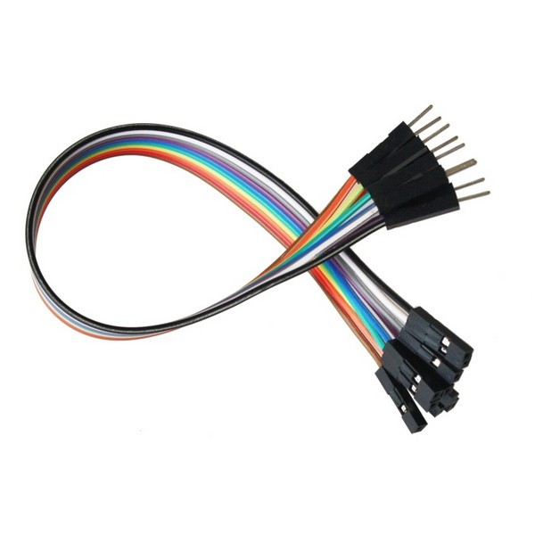 large jumper wires 20cm m f pack 10