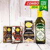 Hummus Combo - (Kabuli Chana, Red Chili, Black Pepper, Olive Oil 500Ml)