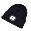 Beanie cap - USB Rechargeable 4 LED with 3 brightness mode
