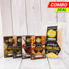 Daily Essentials Combo Pack - (Moong Dal Split, Red Chili, Fenugreek, Turmeric, Coriander)