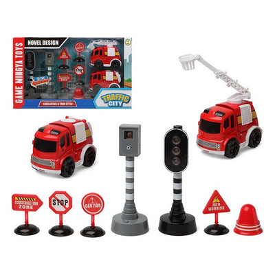Feuerwehr-Set Traffic City 112840 (9 pcs)