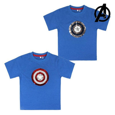 Kurzarm-T-Shirt für Kinder The Avengers 73491