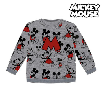 Kinder-Sweatshirt Mickey Mouse 74249 Grau