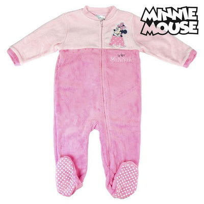 Baby-Pyjama Minnie Mouse 74692 Rosa