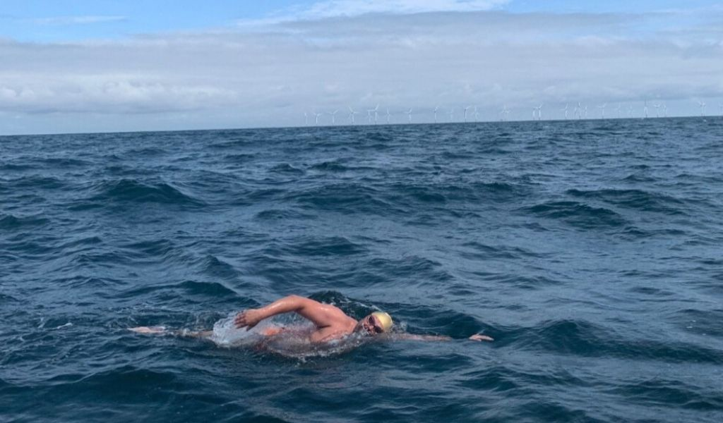 Mental mindset for open water swimming by #TeamSelkie Nick Murch