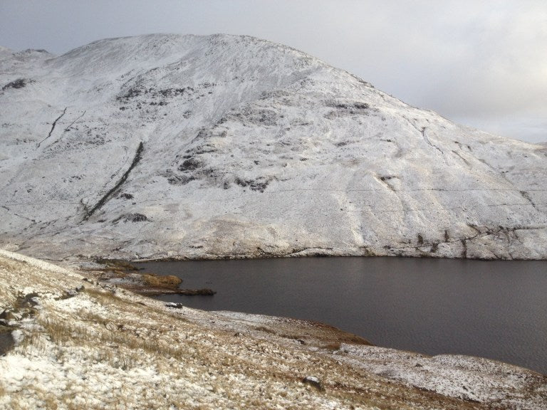Beautiful Grizedale Tarn in Winter