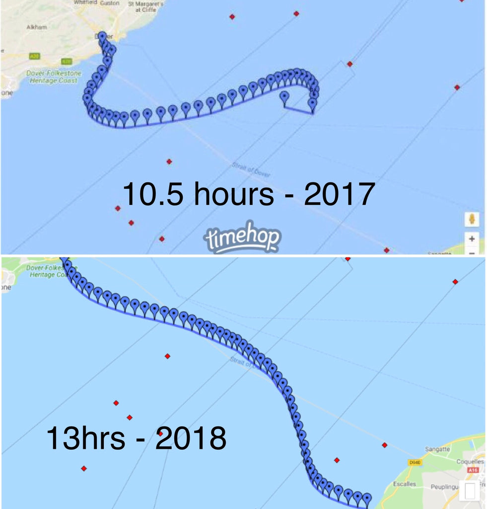 Two different tides in the English Channel