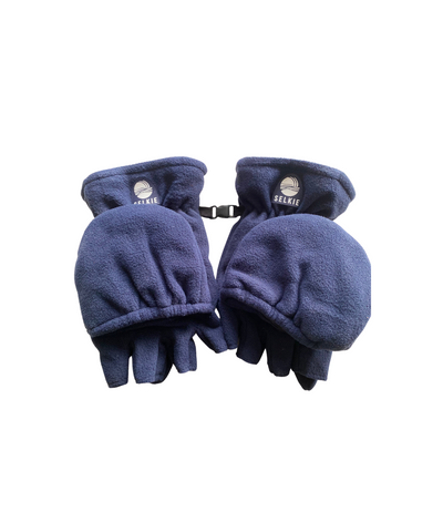 SELKIE GLOVES/MITTENS - NAVY