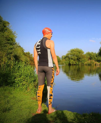 MEN'S SWIMSKIN VEST - GRAPHITE CAMO PRINT