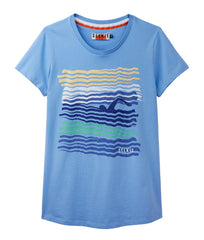 WOMEN'S WAVE TEE - shirt