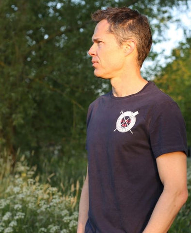 MEN'S RLSS SUPPORTER TEE - NAVY