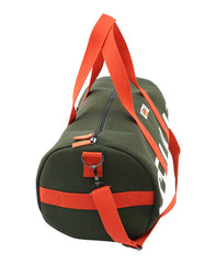 CANVAS BARREL BAG - KHAKI GREEN - bag