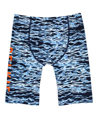 MEN'S JAMMERS - NAVY RIPPLE DESIGN - jammer