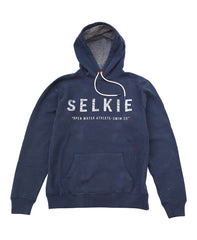 MEN'S POP OVER HOODIE - NAVY - hoodie