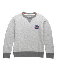 WOMEN'S CREW NECK SWEATSHIRT - GREY MARL - sweats