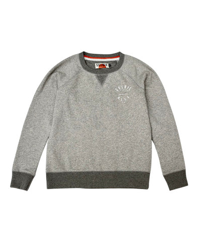 WOMEN'S RLSS SUPPORTER CREWNECK SWEATSHIRT - CHARCOAL GREY