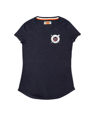 WOMEN'S RLSS SUPPORTER TEE - NAVY