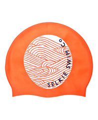 SWIM CAP - WAVE GRAPHIC - swim cap