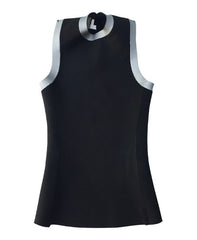 MEN'S SWIMSKIN VEST - GRAPHITE CAMO PRINT - neoprene