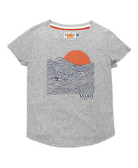 WOMEN'S WAVE GRAPHIC TEE - shirt