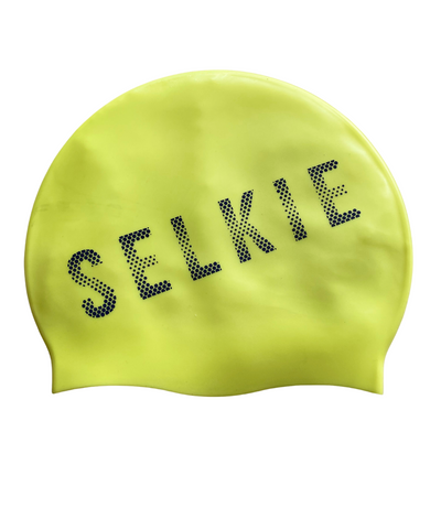 SELKIE SWIM CAP- NEON YELLOW