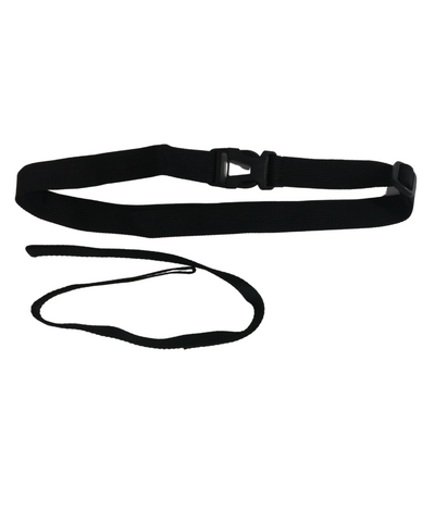 Extra Black Waist Belt & Leash Set for Tow Float