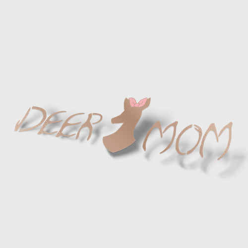 DeerMom Decal