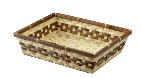 Basket - Rectangular Bamboo