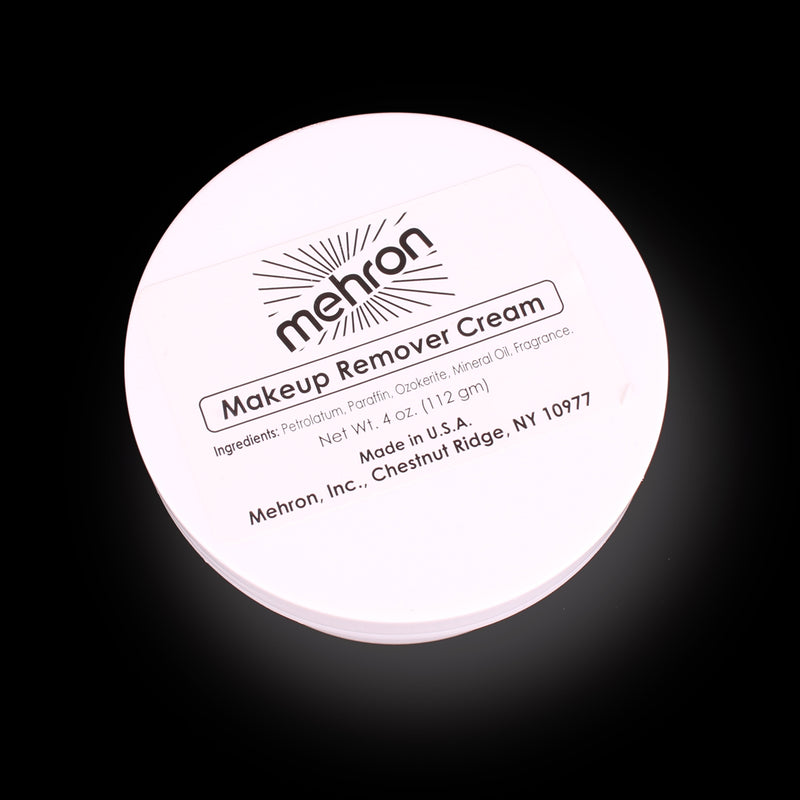 4 oz Mehron Makeup Remover Cream