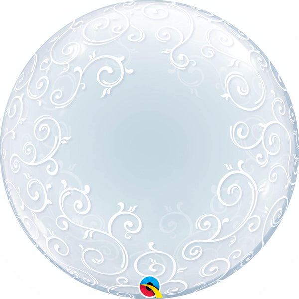 "24"" Fancy Filigree Deco Bubble"
