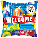 "18"" Welcome Capital Cities Balloon"
