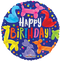 "18"" Happy Birthday Animal Balloon"