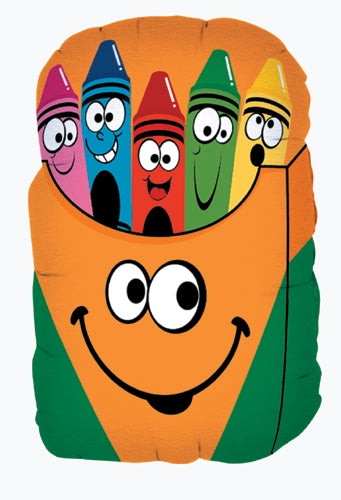 "28"" Smiley Crayon Box"
