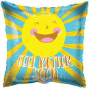 "9"" Feel Better Happy Sun Airfill"