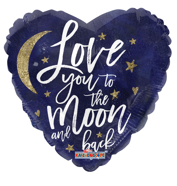 "18"" Love You To The Moon"