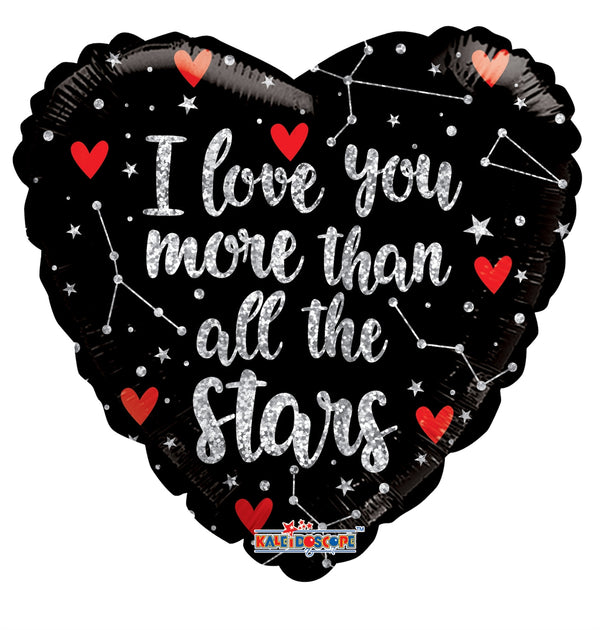"18"" I Love You More Than Stars"