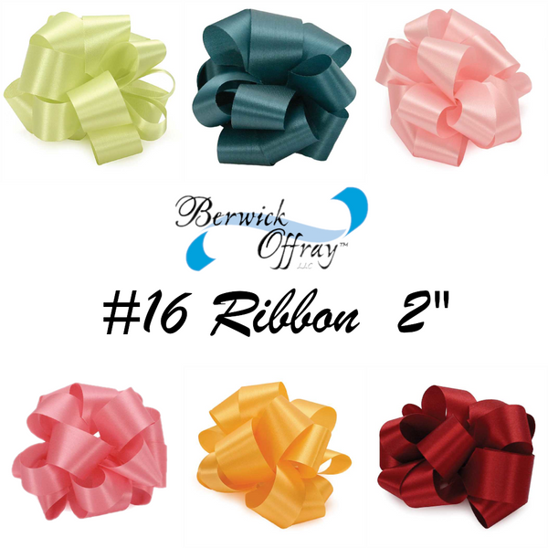 #16 Satin Acetate Ribbon