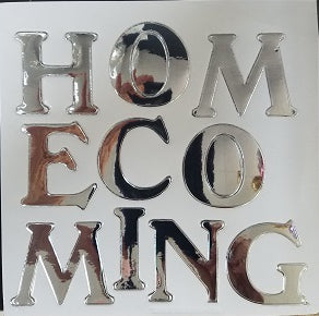 "1.5"" Shiney Homecoming Sticker"